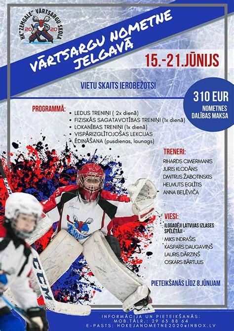 Vārtsargu nometne Jelgavā | Hokeja klubs