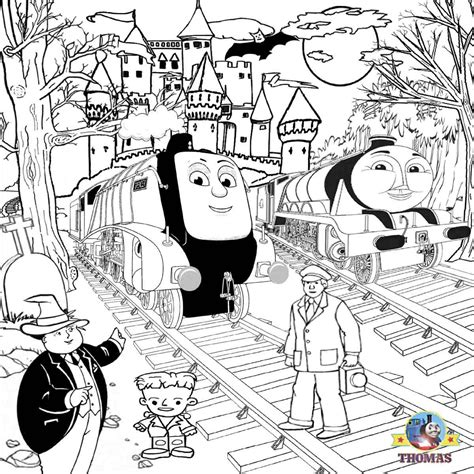 Thomas The Tank Engine Giant Coloring Book