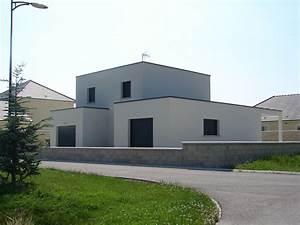 maison cube contemporaine a troyes With amenagement exterieur maison moderne 4 la maison cubique en 85 photos