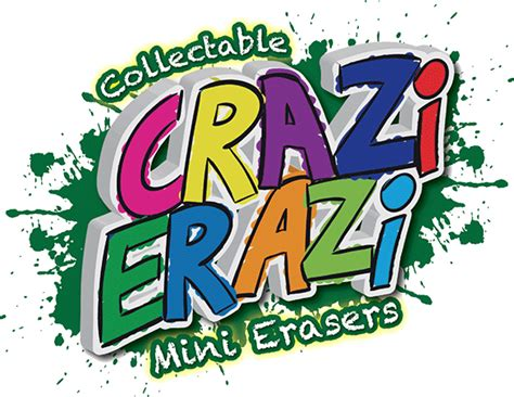 Crazi Erazi Mini Collectable Erasers