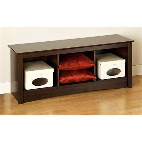 Storage Bench 40 Inches Wide by Edenvale Cubbie Bench Espresso 40 Inches Wide Will