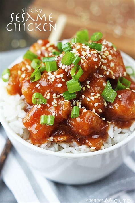 sesame chicken sesame chicken recipe dishmaps