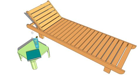 lounge chair plans  outdoor plans diy shed wooden