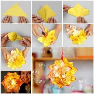 Boule En Papier Crepon : 5 boules de fleurs en papier fabriquer ~ Dode.kayakingforconservation.com Idées de Décoration