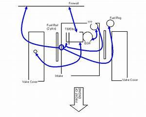 1996 Mustang Gt Vacuum Leak  Cut Wire