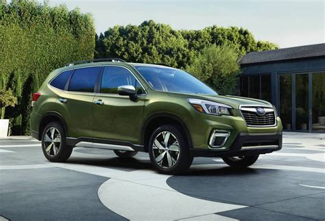 The 2019 Subaru Forester by 2019 Subaru Forester Unveiled At New York Auto Show