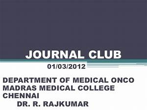 metformin and cancer journal club With journal club powerpoint template