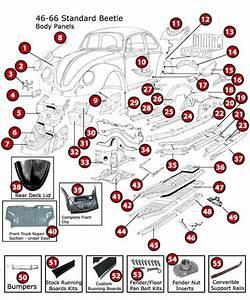 1968 Vw Beetle Engine Parts Diagram