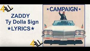 Ty Dolla $ign - Zaddy [Lyrics] - YouTube