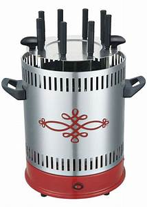 Mini Barbecue Electrique : mini lectrique d 39 ext rieur 1500w amovible grill vertical vertical de rotation grill barbecue ~ Dallasstarsshop.com Idées de Décoration