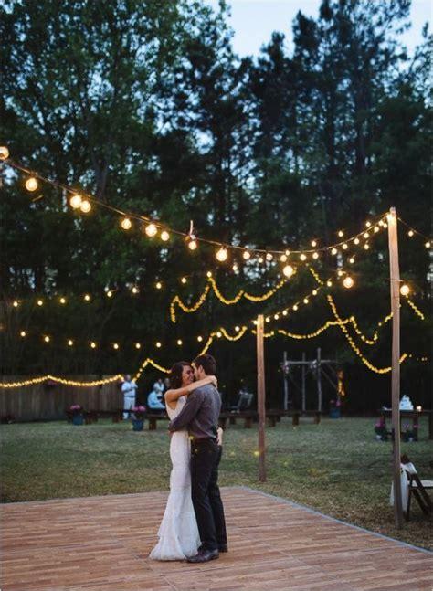 Inexpensive Backyard Wedding by Best 20 Cheap Backyard Wedding Ideas On