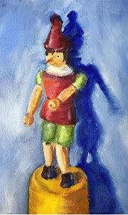 Pinocchio | Painting, Artist, Oil painting