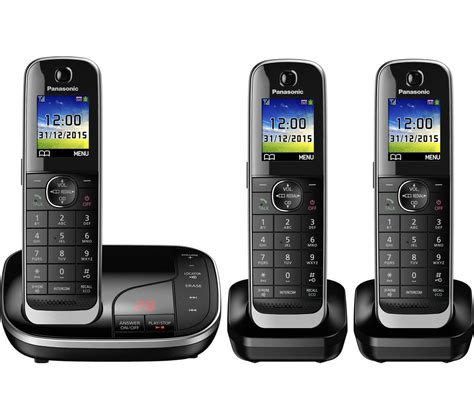 cordless phone with answering machine buy panasonic kx tgj323eb cordless phone with answering