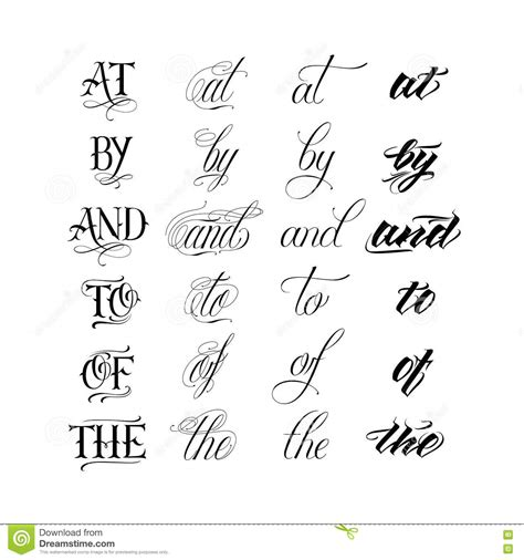 Lettrage Tattoo Calligraphie  Galerie Tatouage
