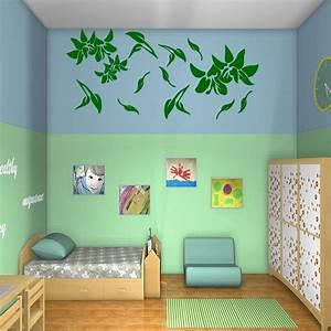 sticker fleurs volantes stickers nature fleurs With chambre bébé design avec comment envoyer des fleurs en angleterre