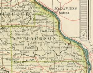 Jackson County Iowa Map