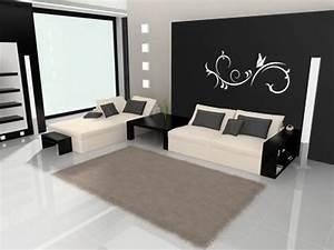 Wand Schwarz Streichen : wohnung streichen ideen ~ Fotosdekora.club Haus und Dekorationen