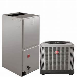 Rheem 2 5 Ton 14 Seer Heat Pump System In 2 5 Ton