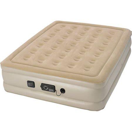 serta air mattress with headboard serta raised air bed with neverflat ac