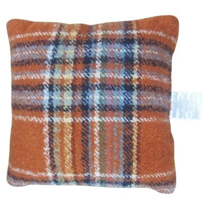 Target Bedroom Throw Pillows by Target Home Square Toss Pillow Orange Plaid For The