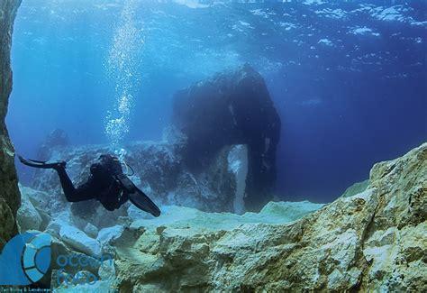 gozo azure window azure boulders mares scuba diving