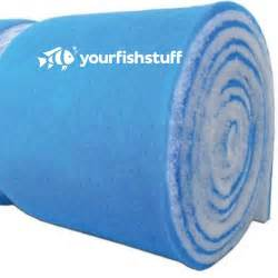 blue bonded aquarium pond filter media pads 24 quot x 36 quot x 1