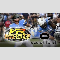 Vr Sports Challenge! Oculus Touch Quarterback Football Game  Roomscale Vr Throwing And