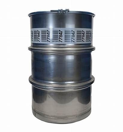 Gallon Barrel 55 Steel Stainless Open Bottom
