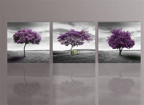 Wall Art Canvas Print Wine Old Winery Cellar Barrels: 19 Collection Of Purple And Grey Wall Art