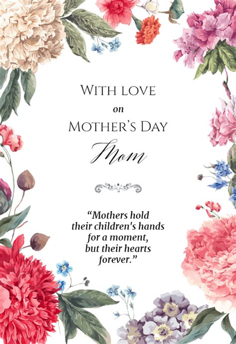 garden glory mothers day card   island