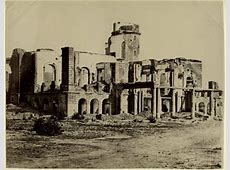 Ruins of Residency Lucknow 1880's Old Indian Photos