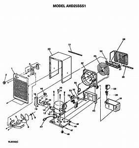 Looking For Ge Model Ahd25sss1 Dehumidifier Repair
