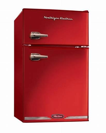 Refrigerator Freezer Retro Compact Nostalgia Cubic Electrics