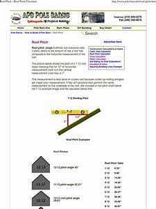 Roof Pitch  U00bb Roof Pitch Calculator