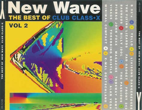 Various  The Best Of New Wave Club Class•x Vol 2 (yy