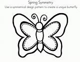 Symmetrical Radial Coloringhome Worksheeto sketch template