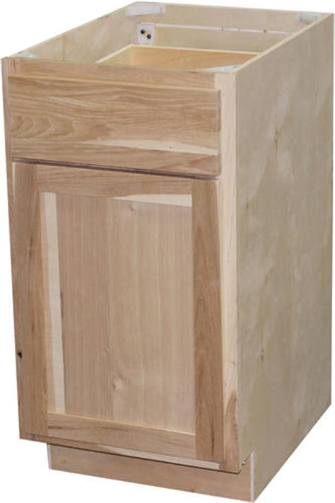 menards unfinished hickory cabinets quality one 24 quot x 34 1 2 quot unfinished hickory base cabinet