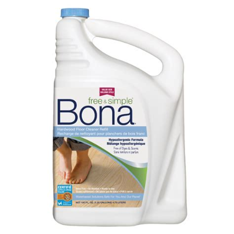 Bona Free & Simple® Hardwood Floor Cleaner Refill (4.73L