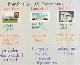 Three Branches of Government Anchor Charts