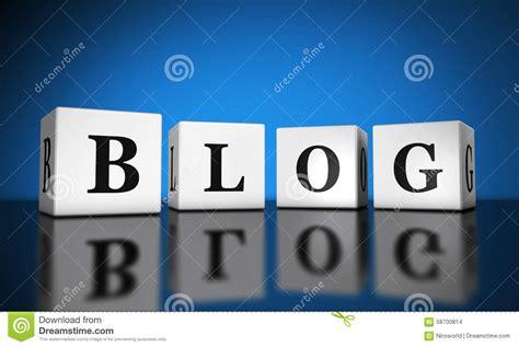 Blog Web Banner stock photo. Image of sign, word, blog ...
