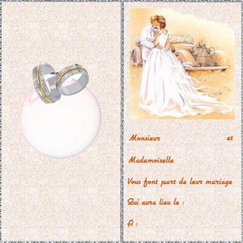 carte d invitation mariage carte mariage des cartes des voeux pour mariage et des