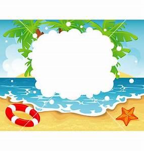 13 Vector Summer Beach Clip Art Images - Summer Beach Clip ...