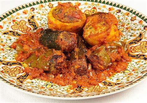 la cuisine tunisienne recette mehchi de la cuisine tunisienne gastronomie