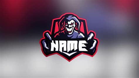 joker gaming logoavatar template photoshop