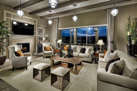 A Minimalist Living Room Hanging Lighting Radiating Beauty