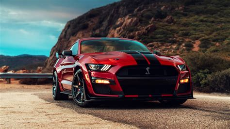 Wallpaper 2020 Ford Mustang Shelby Gt500 2020 ford mustang shelby gt500 4k wallpapers hd