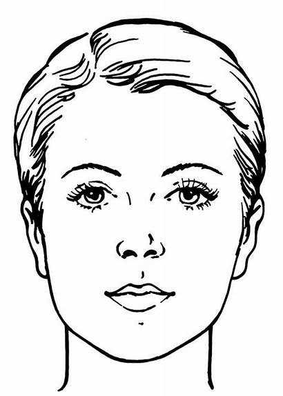 Coloring Pages Face Makeup Adult Printable Water