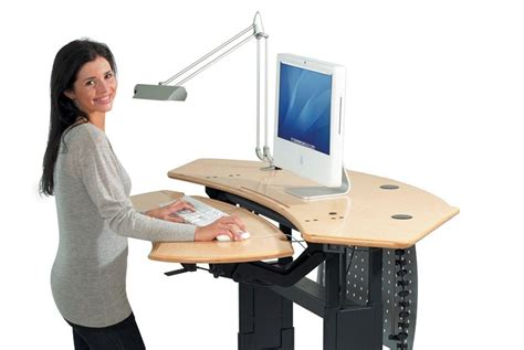 lift up computer desk how to use a standing desk