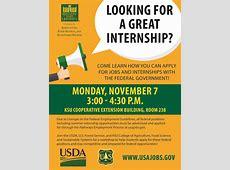 KSU offers workshop to apply for federal internships and