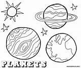 Planet Coloring Planets Stars Sky sketch template